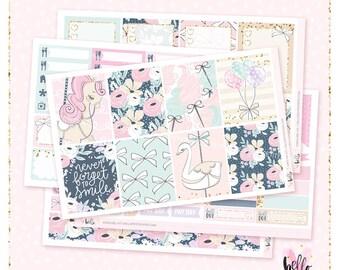 Carousel - Planner sticker kit / 6 sheets - Erin Condren, Happy Planner