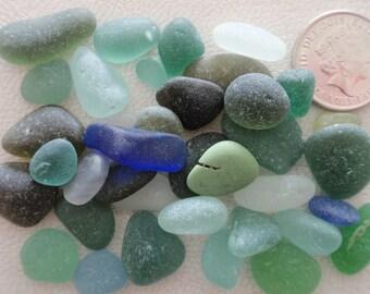 English sea glass colour collection teal, blue,seafoam,pale blue etc, all JQ