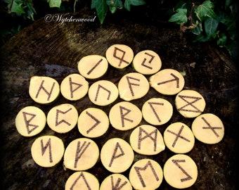 Hawthorn Rune Set - Viking, Norse, Divination, Runes