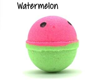 Watermelon Bath Bomb | Watermelon Bath Bomb | What-A-Melon Bath Bomb Fizzy