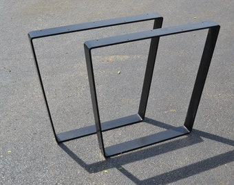 IN STOCK - Ready To Ship - Bent Trapezoid Table Legs
