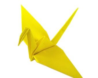 Wedding Cranes | 50 Yellow