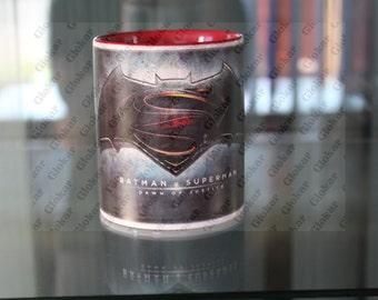 Glass Batman v Superman
