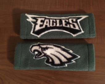 Eagles SEAT BELT COVERS  (set of two)