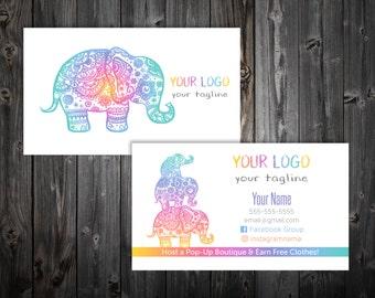 Business Cards - Elephant