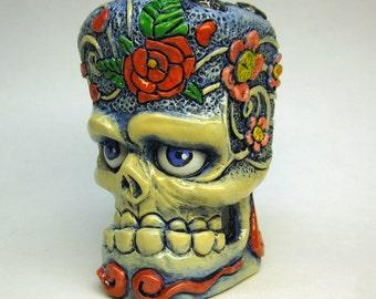 Flower Tattoo Skull Shifter