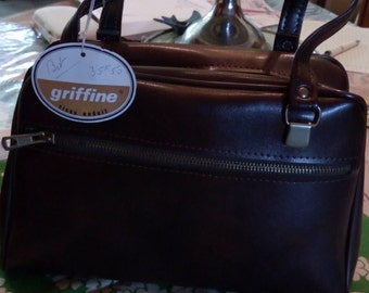 bags 1950 s / 60s Brown old stock!