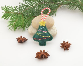 Christmas tree, Christmas decoration, Christmas tree decoration, handmade decoration, Felt decoration, Felt Christmas ornament