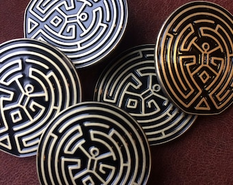The Maze pin.