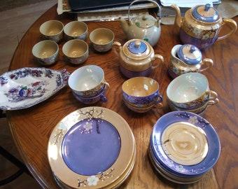 Vintage Japanese dinnerware.