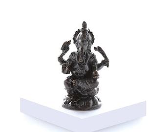 """Miniature Brass Ganesh. """"Om Ganeshaya Namah"""" II"""