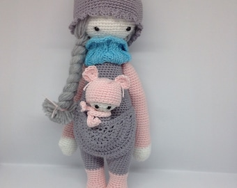 On order/Lalylala and her baby / amigurumi / child's toy