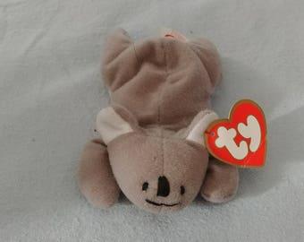 Ty mini beanie baby Mel the koala
