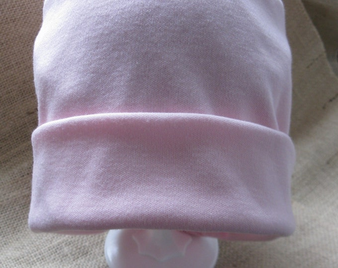 I love this hat! Soft and Comfy Pink Chemo Cap Cancer Headwear Sleep Cap