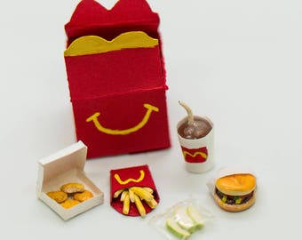 Happy Meal Inspired Miniature