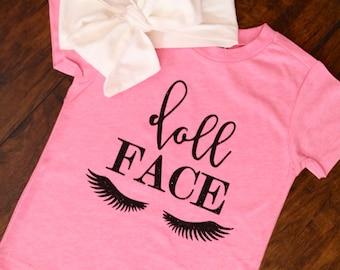 Doll Face Baby Toddler Shirt