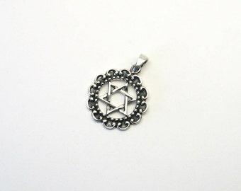 Beautiful David Hexagram Pendant