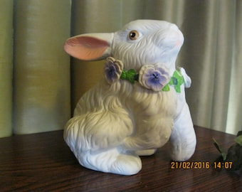 Vintage large easter rabbit used