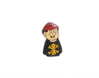 Poison lapel pin,backpack pin, comic enamel pin, cool lapel pin, nerd enamel pin, heady lapel pin, hippy enamel pin, festival lapel pin