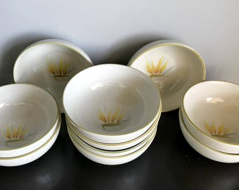 Winfield Bird of Paradise Coupe Cereal Bowl - 19 Remaining!!