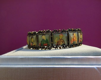 18th Century Style (Asian)  Chinoiserie Bracelet