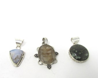Gemstone Pendants your choice