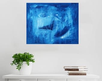In The Night Sky // Abstract Artist Charlie Albright // From Moments by Charlie BLOG & Online Shop // Abstract Art in Acrylic Paint
