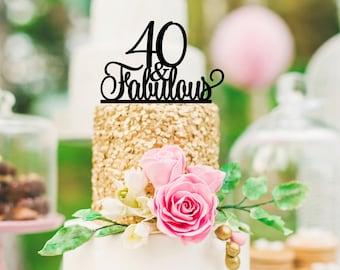 70th Birthday Cake Topper 70 Sassy Birthday Cake Topper