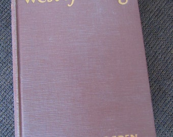 West of Dodge by George W. Ogden 1926 Free Shipping