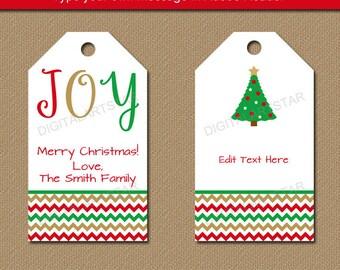 Printable christmas gift tags editable christmas party favor printable christmas gift tags editable christmas hang tags holiday gift tags diy christmas negle Gallery