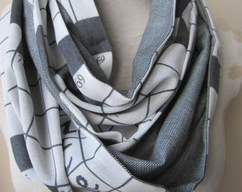 Pashmina infinity scarf - crossword scarf black gray men's scarves EXPRESS SHIPPING 2018 Man Women fashion Accessory scarf gift for man
