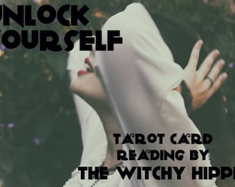 Unlock Yourself Tarot Card Reading / Tarot Card Spread / Tarot Card Pulling