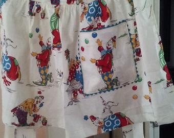 Apron made with vintage fabric