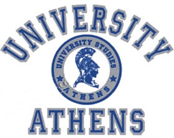 University of Athens Greece Hooded Sweatshirt