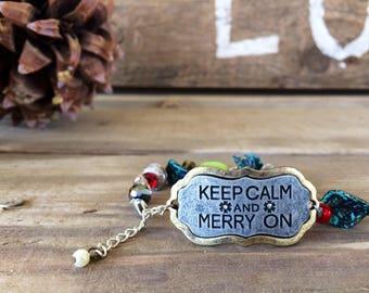 Merry On Bracelet