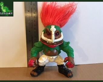 Vintage 1993 Battle Troll T.D. Troll by Hasbro