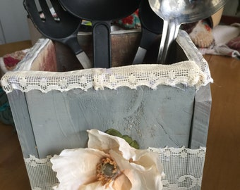 Handmade Utensil Holder