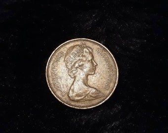 1971 Uk Circulated 2 New Pence Coin