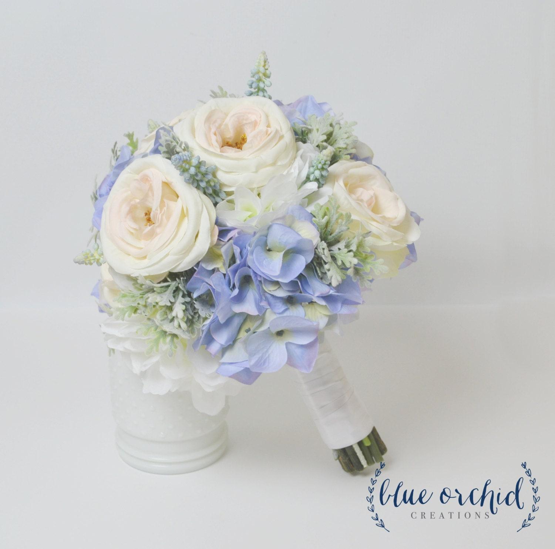 zoom - Blush Garden Rose Bouquet