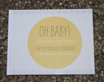 Oh Baby! Personalized Baby Shower Book