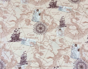 Map fabric by the yard world map fabric vintage map print map fabric by the yard world map fabric vintage map print fabric grey gumiabroncs Image collections