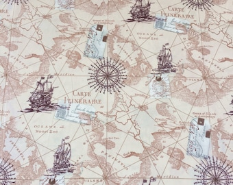 Map fabric by the yard world map fabric vintage map print map fabric by the yard world map fabric vintage map print fabric grey gumiabroncs Gallery