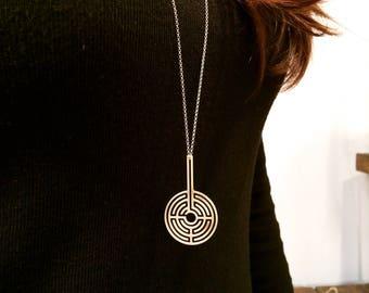 Labyrinth 360ᵒ Necklace