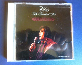 On Sale! Elvis Presley He Touched Me CD 1992