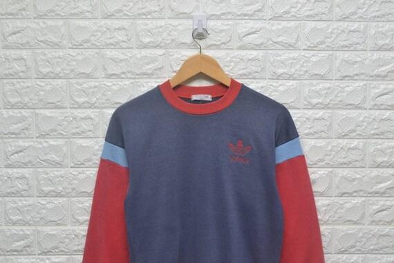 Adidas Vintage trefoil ski descente jumper sweatshirt BqqgH4OWv