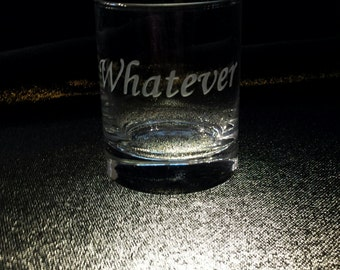 Double Shot Glass - funny or custom