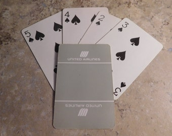 Vintage Deck United Airlines Playing Cards