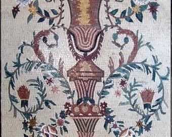 Floral Mosaic Art Ideas