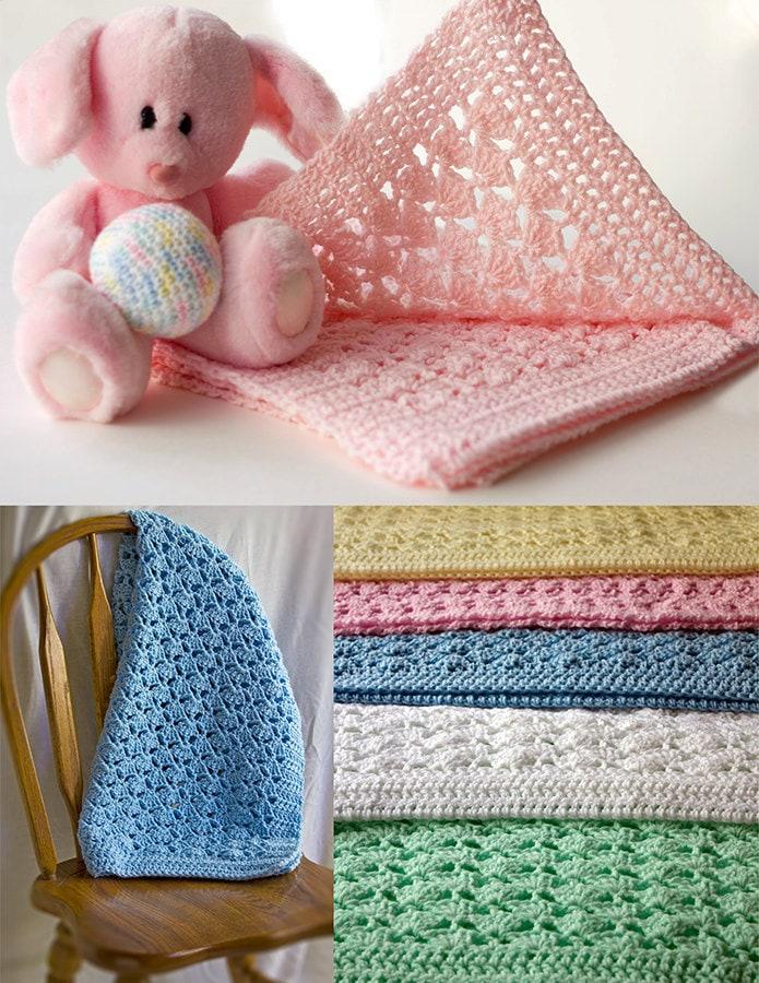Perfect Kostenlos Babydecke Muster Häkeln Ideas - Decke Stricken ...
