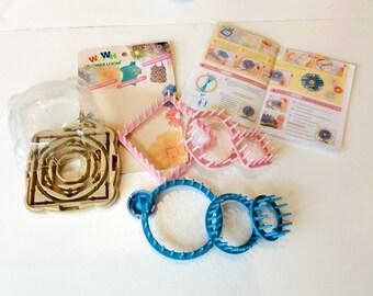 Flower loom weaving kit
